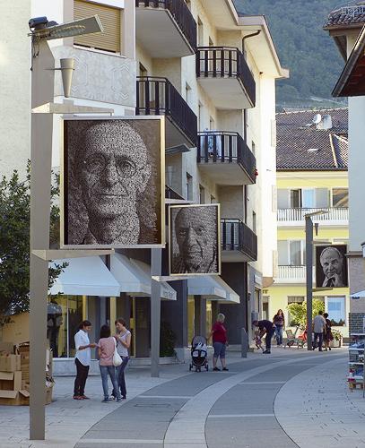 Lana - Meran: Installation Ralph Ueltzhoeffer